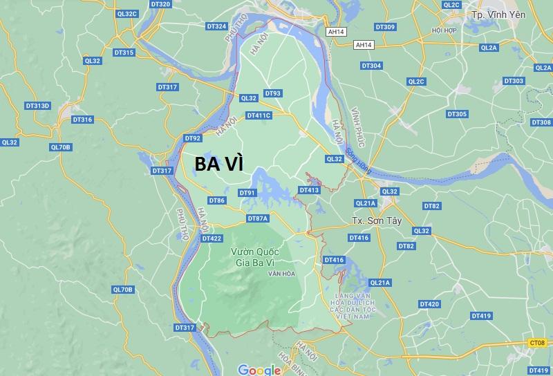 Mua than đá ở Ba Vì, Hà Nội